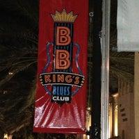 Photo taken at BB King's Blues Club by Mitch Z. on 11/16/2012