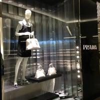 Photo taken at Prada by LENA T. on 1/26/2013
