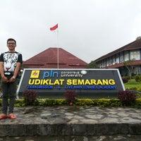 Photo taken at PT PLN (Persero) Udiklat Semarang by Glendy R. on 2/2/2014