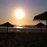 Photo taken at Praia do Norte by Rita on 8/25/2013