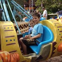 Photo taken at Sesame Street Safari Of Fun by Jack N Lena on 9/21/2012