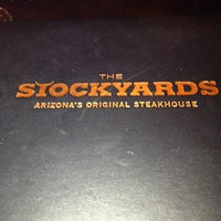 Photo taken at Stockyards Steakhouse by Ann A. on 4/7/2013