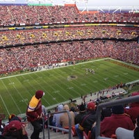 Photo taken at FedEx Field by Mack R. on 11/18/2012