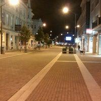 Photo taken at Lannova Třída by Michal P. on 9/25/2012