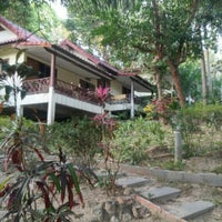 Photo taken at Baan Suan Sook Resort by Maria A. on 3/4/2015