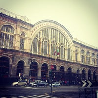 Photo taken at Torino Porta Nuova railway station (TPY) by Luca F. on 10/27/2012