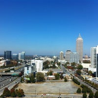 Photo taken at Tech Square Research Building (TSRB) by Paula M. on 11/8/2012