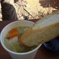 Photo taken at Soup Peddler Real Food & Juice Bar by Larry S. on 11/5/2012