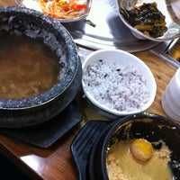 Photo taken at 산골집 by Chohye on 1/8/2013
