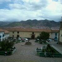 Photo taken at Plaza de San Blas by Ignacio L. on 3/3/2013