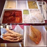 Photo taken at Saffron Indian Cuisine by Colette M. on 9/16/2013
