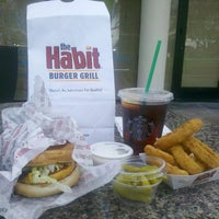 Photo taken at The Habit Burger Grill by Eddie on 2/18/2014