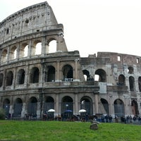 Photo taken at Piazza del Colosseo by Vincenzo L. on 12/14/2012