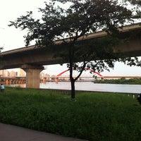 Photo taken at Han River Bicycle Path 한강 자전거도로 by SangA on 9/15/2012