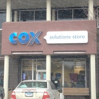 Photo taken at Cox Solutions Store by Kay B. on 3/7/2014