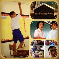 Photo taken at Saiaksorn School by Max O. on 1/3/2013