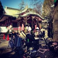 Photo taken at 市谷亀岡八幡宮 by igao_aka on 1/12/2013