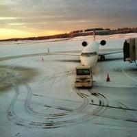 Photo taken at Bangor International Airport (BGR) by Dan O. on 1/17/2013