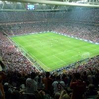 Photo taken at Türk Telekom Arena by Bilal Y. on 6/18/2013