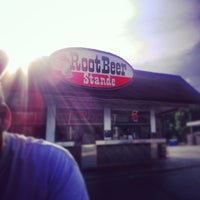 Photo taken at The Root Beer Stande by Jennifer S. on 8/21/2013