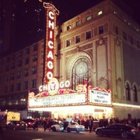 Photo taken at The Chicago Theatre by Rachel C. on 3/23/2013