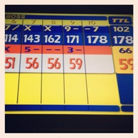 Photo taken at Schofield Barracks Bowling Alley by Ester C. on 10/23/2012