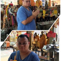 Photo taken at Wat Luang Por Opasee by warlordped r. on 3/3/2016