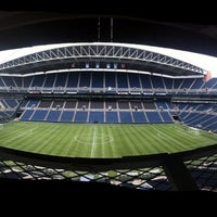 Photo taken at CenturyLink Field by Asier on 7/10/2013