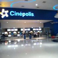 Photo taken at Cinépolis by Francisco T. on 10/3/2012