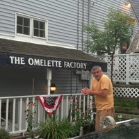 Photo taken at Omelette Factory by Mike C. on 8/29/2013
