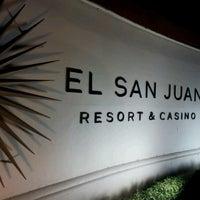 Photo taken at El San Juan Hotel & Casino by Francheska B. on 11/18/2012