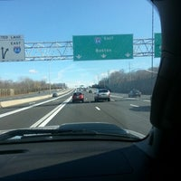 Photo taken at I-84 -- Hartford by Heather T. on 2/2/2013