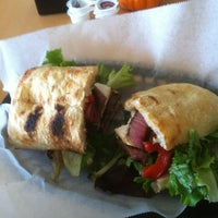 Photo taken at Rodos Greek Cafe by Pam R. on 10/23/2012