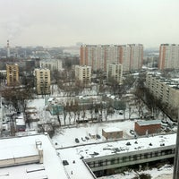 Photo taken at БЦ «Нагатинский» by Ruslan A. on 1/5/2013