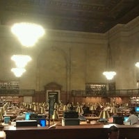 Photo taken at Rose Main Reading Room - New York Public Library by Yéhia M. on 9/26/2012