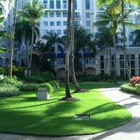 Photo taken at The Ritz-Carlton, San Juan by Miguel C. on 12/4/2012