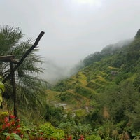 Photo taken at Banaue Rice Terraces Viewpoint by Weizohmae B. on 10/6/2016