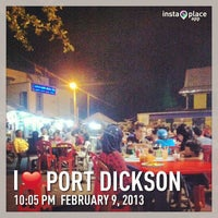 Photo taken at Benteng Selera Malam Port Dickson by harith hardey on 2/9/2013