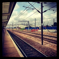 Photo taken at Peterborough Railway Station (PBO) by Rowland W. on 7/23/2013