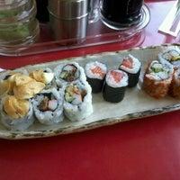 Photo taken at Sushi Kiosk! by Sushi Tei by gus r. on 6/7/2013