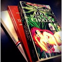 Photo taken at Raven Used Books by WaiYen Jas on 9/1/2013