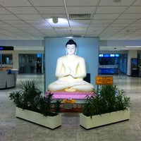 Photo taken at Bandaranaike Int'l Airport (CMB) by Mohamed on 3/2/2013