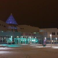 Photo taken at Khanty-Mansiysk International Airport (HMA) by Artem G. on 11/9/2012
