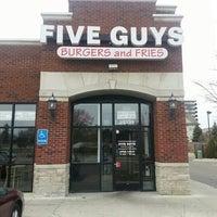 Photo taken at Five Guys by Sean H. on 4/4/2014