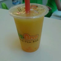 Photo taken at Tea One - Bubble Tea by Kristýna M. on 9/30/2012