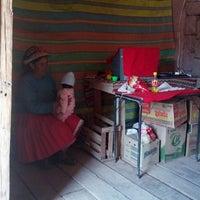 Photo taken at Plaza de Armas de Tambobamba by Boris O. on 9/21/2012