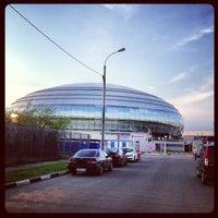 Das Foto wurde bei Дворец спорта «Динамо» von Irina A. am 5/10/2013 aufgenommen