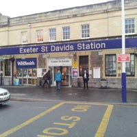 Photo taken at Exeter St Davids Railway Station (EXD) by Lynda J. on 12/12/2012