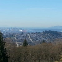 Photo taken at Burnaby Mountain Park by Andrew R. on 3/31/2013