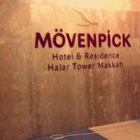 Photo taken at Mövenpick Hotel & Residence Hajar Tower Makkah by mariam . on 11/14/2016